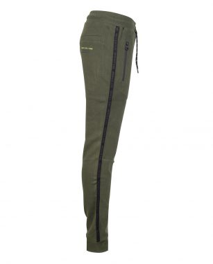 Indian Blue jog pant tape army