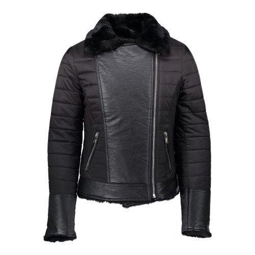 Jacket-reversible-with-fur-collar-black-19474