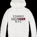 Tommy Hilfiger Graphic hoodie white