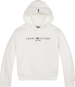Tommy Hilfiger essential hooded sweat white