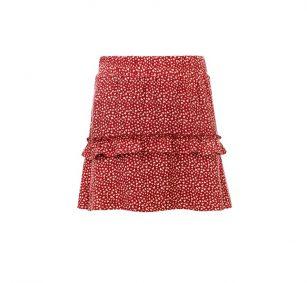 Looxs printed skirt merlot