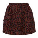 Looxs snake skirt