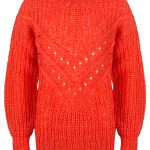 Indian Blue knitwear sweater red