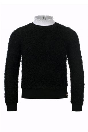Looxs knitted pullover black