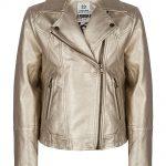 Indian Blue Jeans biker jacket gold