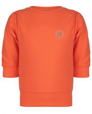 Indian Blue Jeans crewneck basic orange