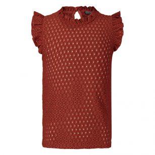 Retour shirt Fay Brique