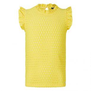 Retour shirt Fay geel