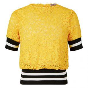 Retour shirt Enoah geel