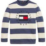 Tommy Hilfiger stripy heritage logo