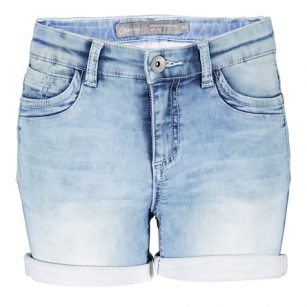 Geisha short stone denim