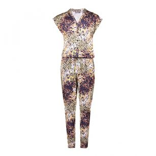 Geisha jumpsuit animal