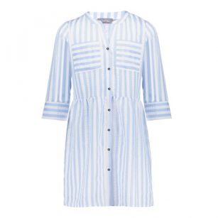 Geisha dress blouse striped