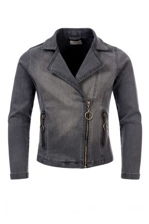 Looxs biker jacket grey