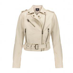 Frankie Belt Biker Jacket