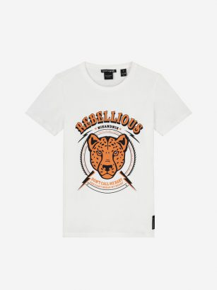 Nik & Nik Rebellious t-shirt off white