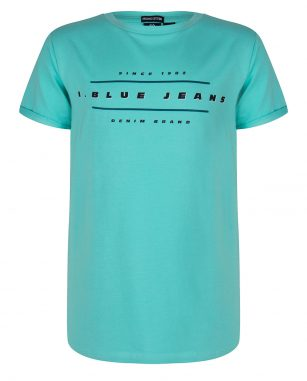 Indian Blue SS shirt aqua
