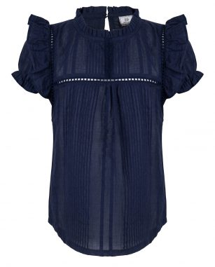 Indian Blue Jeans Summer blouse navy