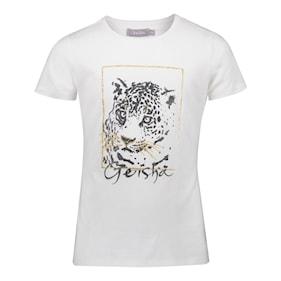 Geisha t-shirt glitter tiger