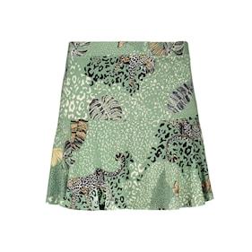 Geisha skirt short leopard