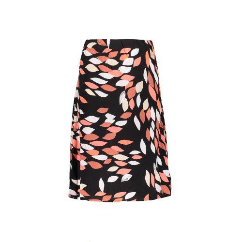 FL21303 tess skirt leaves black front