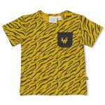 Feetje T-shirt AOP Okergeel Go Wild