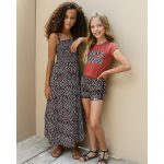 Looxs zebra jurk