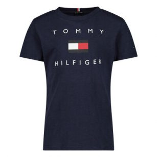 Tommy Hilfiger Logo Tee Twilight Navy