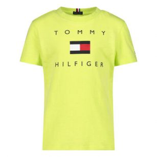 Tommy Hilfiger Logo Tee Sour Lime