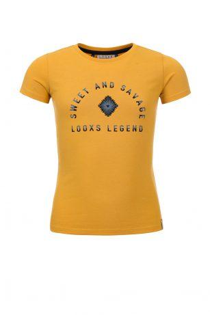 Looxs t-shirt yellow