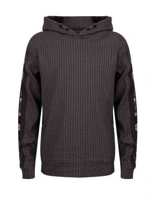 Indian Blue Hooded Check