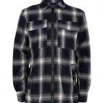Indian Blue shirt Jacket Check