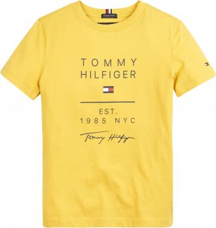 Tommy Hilfiger Graphic tee Yellow