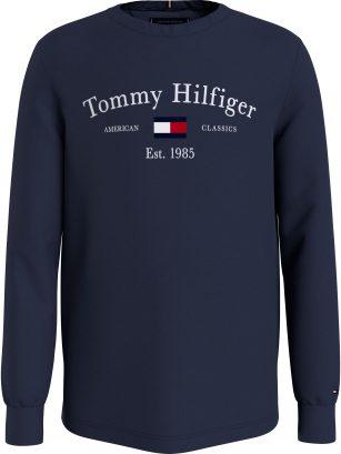 Tommy Hilfiger Artwork Tee navy