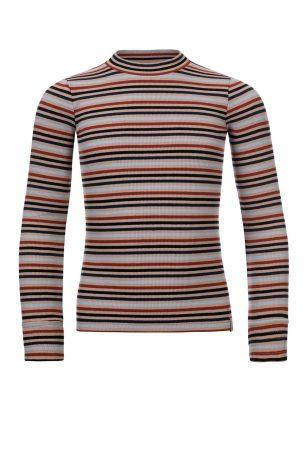 Looxs striped sleeve t-shirt