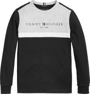 Tommy Hilfiger essential colorblock zwart/grijs