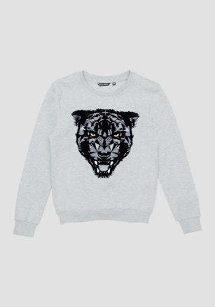 Antony Morato Sweatshirt Flock Tiger